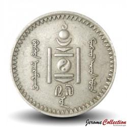 MONGOLIE - PIECE de 10 Mongo - 1937