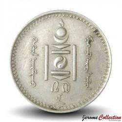 MONGOLIE - PIECE de 20 Mongo - 1937