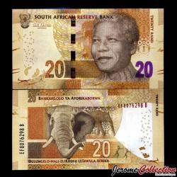 AFRIQUE DU SUD - Billet de 20 Rand - 2013
