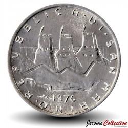 SAINT-MARIN - PIECE de 1 Lire - 1976