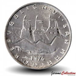 SAINT-MARIN - PIECE de 2 Lires - 1976