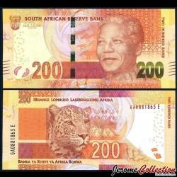 AFRIQUE DU SUD - Billet de 200 Rand - 2013
