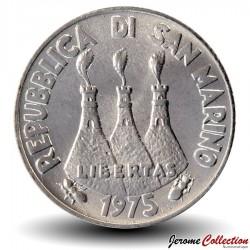 SAINT-MARIN - PIECE de 2 Lires - Hippocampe - 1975