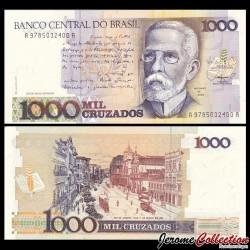 BRESIL - Billet de 1000 Cruzados- 1988