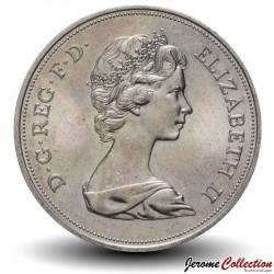 ROYAUME UNI - PIECE de 25 Pence - Noces d'argent - 1972
