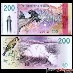 KOMPLECE - Billet de 200 Bekara - Oiseau / Requin Marteau - 2019