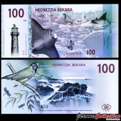 KOMPLECE - Billet de 100 Bekara - Oiseau / Raie Manta - 2019