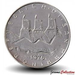 SAINT-MARIN - PIECE de 50 Lire - Triangle - 1976