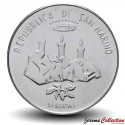SAINT-MARIN - PIECE de 100 Lires - Vaisseau spacial - 1986
