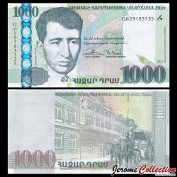 ARMENIE - Billet de 1000 DRAM - 2015