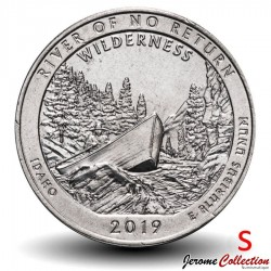 ETATS UNIS / USA - PIECE de 25 Cents - America the Beautiful - River of No Return - 2019 - S Km#New