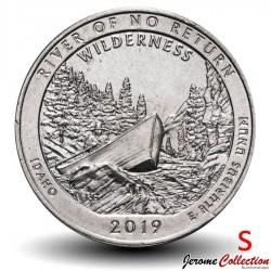 ETATS UNIS / USA - PIECE de 25 Cents - America the Beautiful - River of No Return - 2019 - S