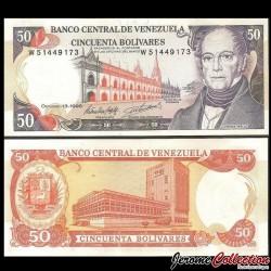 VENEZUELA - Billet de 50 Bolivares - Andrés Bello - 1998 P65g