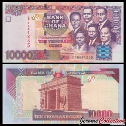 GHANA - Billet de 10000 Cedis - 2006 P35c