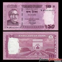 BANGLADESH - Billet de 10 Taka - 2013