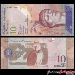 VENEZUELA - Billet de 10 Bolivares - 20 03 2007 P90a