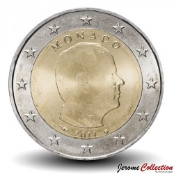 MONACO - PIECE de 2 Euro - Albert II - 2011