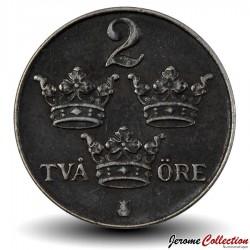 SUEDE - PIECE de 2 Ore - Gustaf V - 1950