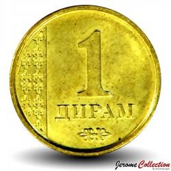 TADJIKISTAN - PIECE de 1 Diram - 2011 Km#35