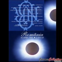 ROUMANIE - Billet de 2000 Lei - Système solaire - Polymer - 1999