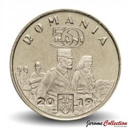 ROUMANIE - PIECE de 50 Bani - Reine Maria - 2019 Km#new