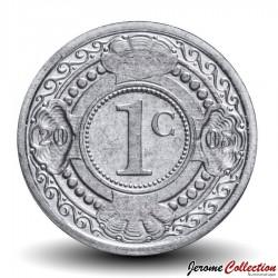 ANTILLES NEERLANDAISES - PIECE de 1 Cent - Fleur d'oranger - 2005 Km#32