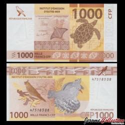 TERRITOIRES FRANÇAIS DU PACIFIQUE - Billet de 1000 Francs - 2014 P6a