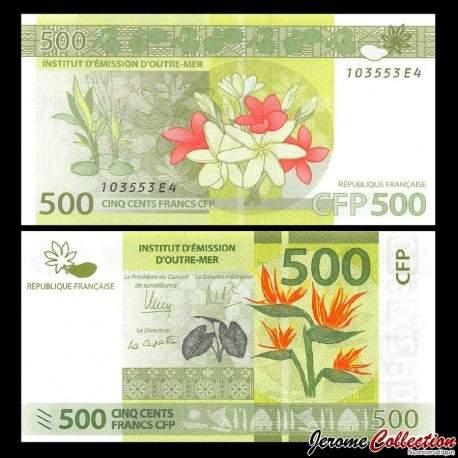 TERRITOIRES FRANÇAIS DU PACIFIQUE - Billet de 500 Francs - 2014