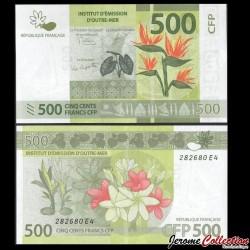 TERRITOIRES FRANÇAIS DU PACIFIQUE - Billet de 500 Francs - 2018 P5b