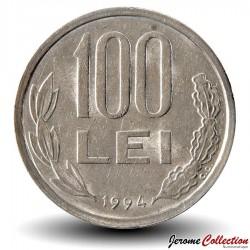 ROUMANIE - PIECE de 100 Lei - Michel Ier le Brave - 1994