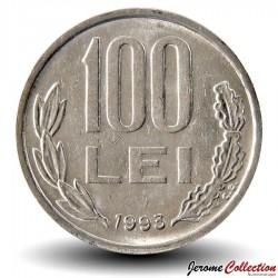 ROUMANIE - PIECE de 100 Lei - Michel Ier le Brave - 1993