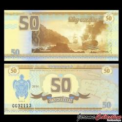 TORTUGA - Billet de 50 Escalins - 2014 - Tortue - Bataille Navale
