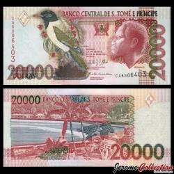SAO TOMÉ-ET-PRINCIPE - Billet de 20000 Dobras - 31.12.2013 P67e
