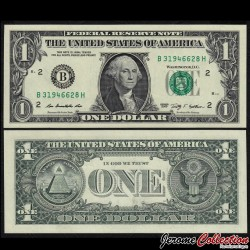 ETATS UNIS - Billet de 1 DOLLAR - 2009 - B(2) New York