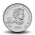 CANADA - PIECE de 25 CENTS - Vancouver 2010 - Curling paralympique - 2007 Km#684