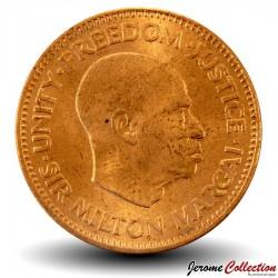 SIERRA LEONE - Pièce de 1/2 Cent - Sir Milton Margai - 1964