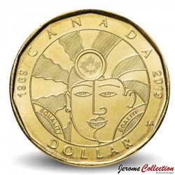 CANADA - PIECE de 1 DOLLAR - Equality / Egalité - 2019 Km#New