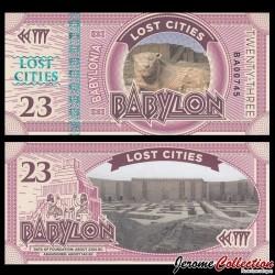 BABYLONIA - Billet de 23 Babylon - 2016