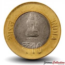 INDE - PIECE de 10 ROUPIES - 60 ans du Coir Board of India - 2013