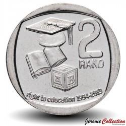 AFRIQUE DU SUD - PIECE de 2 Rand - Droit à l'éducation 1994-2019 - 2019 Km#new