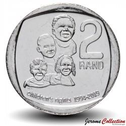 AFRIQUE DU SUD - PIECE de 2 Rand - Droits des enfants - 2019