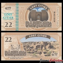 BABYLONIA - Billet de 22 Babylon - 2016