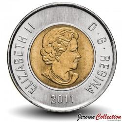CANADA - PIECE de 2 DOLLARS - Forêt boréale - 2011