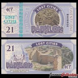BABYLONIA - Billet de 21 Babylon - 2016
