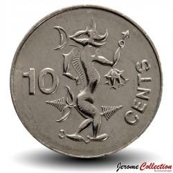 SALOMON - PIECE de 10 Cents - Esprit de la mer: Adaro - 2005 Km#27a