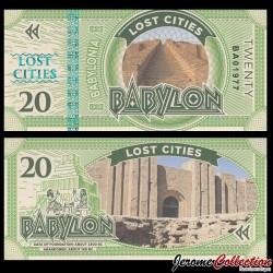 BABYLONIA - Billet de 20 Babylon - 2016
