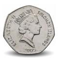 SALOMON - PIECE de 1 Dollar - Statue - 2005 Km#72