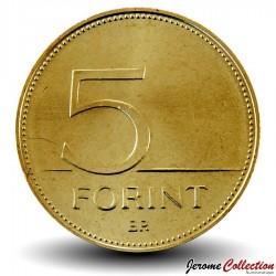 HONGRIE - PIECE de 5 FORINT - Grande aigrette blanche - 2001