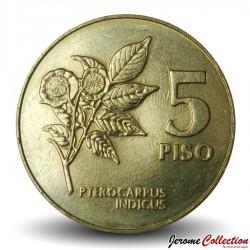 PHILIPPINES - PIECE de 5 Piso - Emilio Aguinaldo - 1991 Km#259