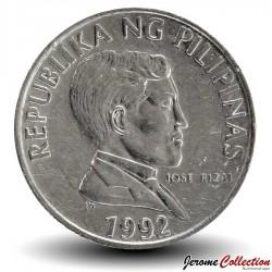PHILIPPINES - PIECE de 1 Piso - Buffle Tamarau - 1992